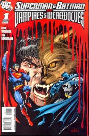 Superman Batman Vs. Vampires And Werewolves Comics